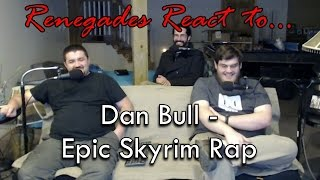 Renegades React to... Dan Bull - Skyrim Epic Rap