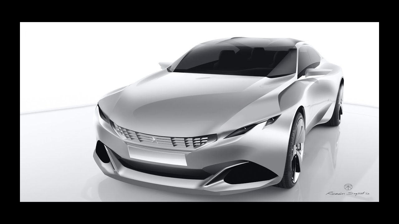 2014 Peugeot Exalt Concept - Car Channel - YouTube