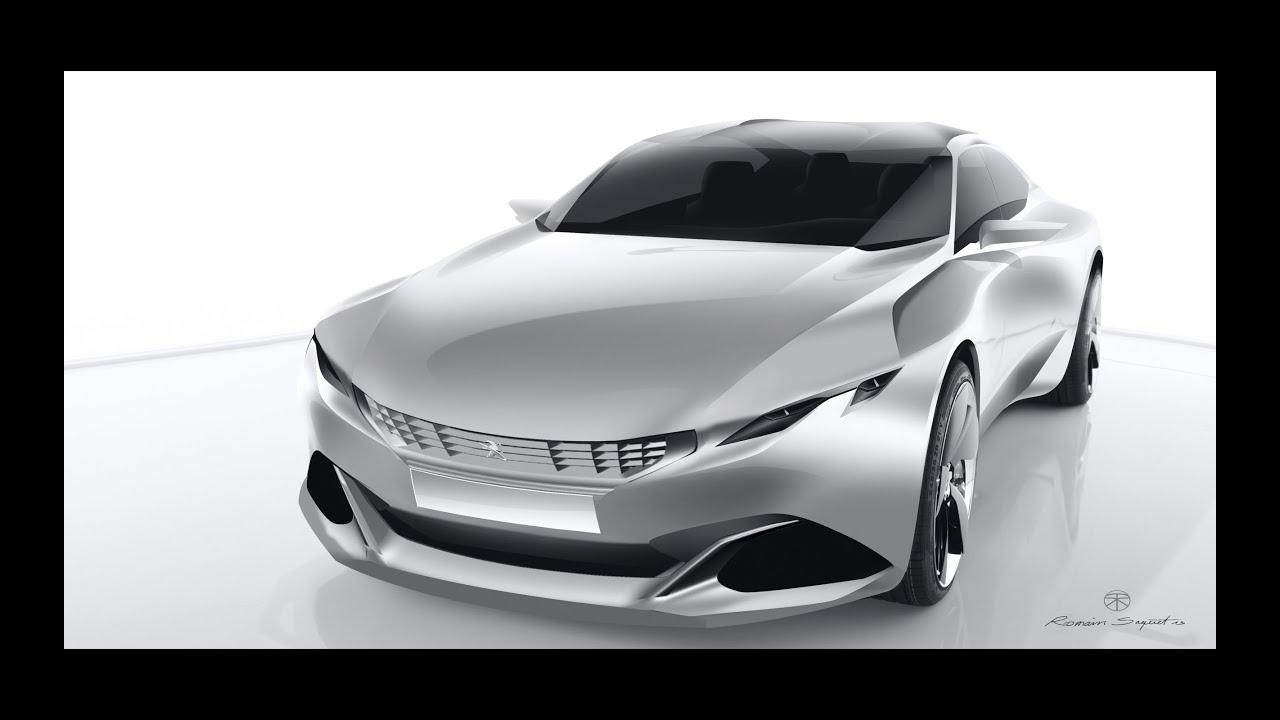 2014 peugeot exalt concept - car channel - youtube