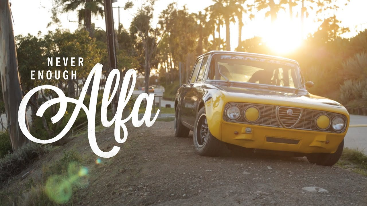 this 1972 alfa romeo berlina is never enough - youtube
