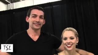 TSL Interviews Alexa Scimeca & Chris Knierim at 2015 Skate America