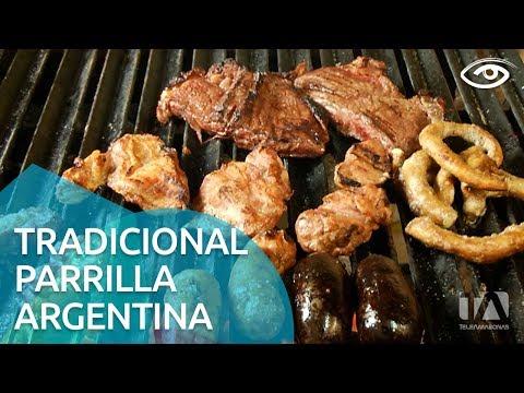 Tradicional parrilla argentina - Día a Día - Teleamazonas
