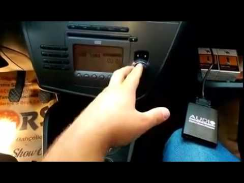 Audio System Usb Sd Aux Adaptörleri Seat Leon 2006