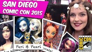 Обзор новинок Comic Con 2015 Peri & Pearl Serpentine, Toralei Great Scarrier Reef, Barbie SDCC