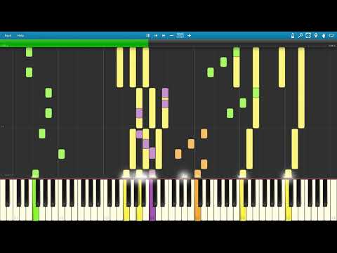 ATC  All Around The World Synthesia MIDI