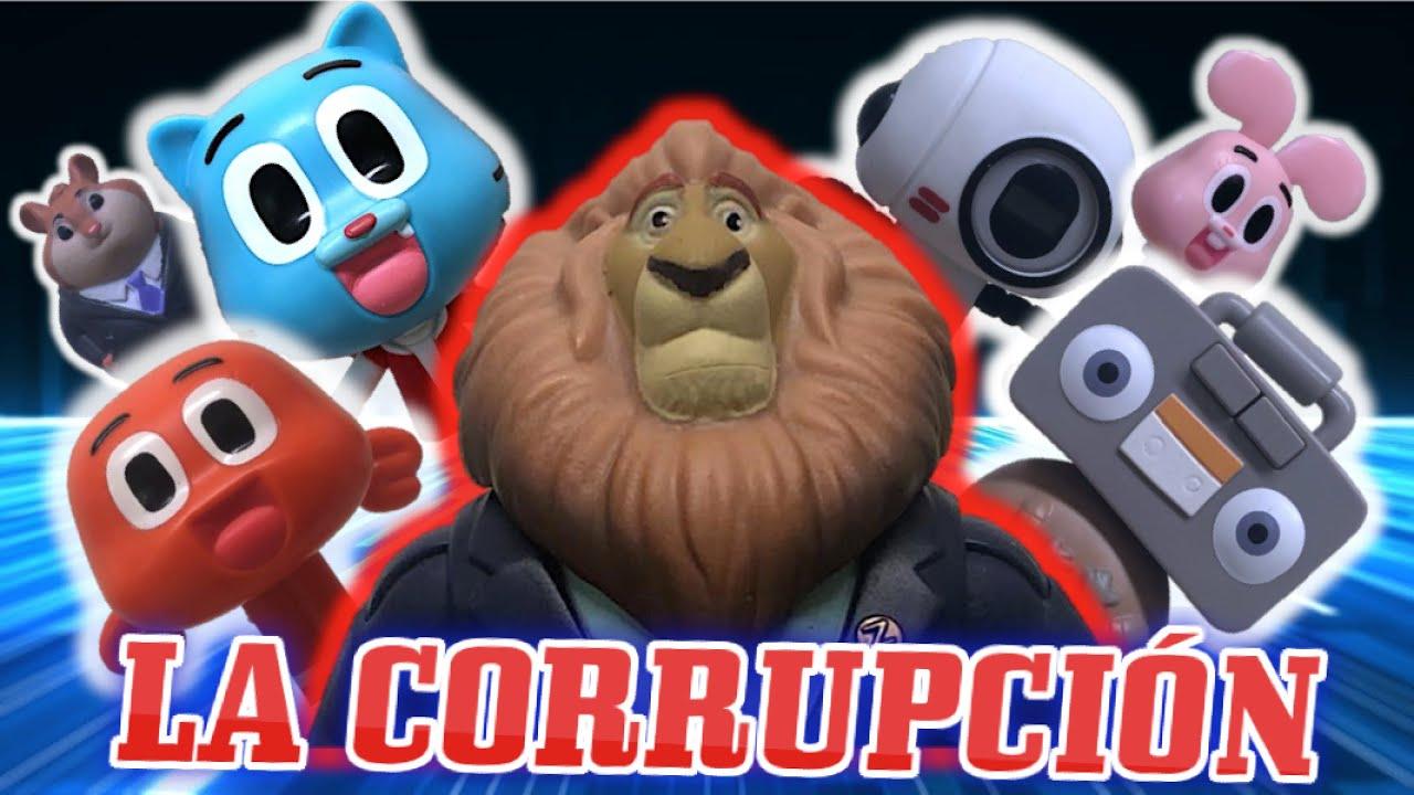 El Increíble Mundo de Gumball - LA CORRUPCIÓN (Episodio #11)