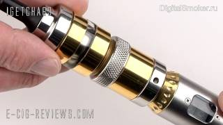 REVIEW - TUTORIAL OF THE PATRIOT UFS ATOMISER FOR ELECTRONIC CIGARETTES
