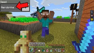 Top 3 Seeds to Find HEROBRINE in Minecraft Pocket Edition