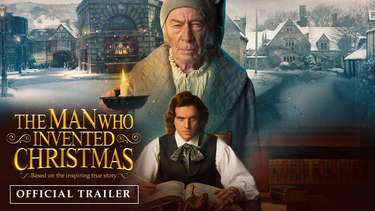 THE MAN WHO INVENTED CHRISTMAS | Official Trailer - YouTube