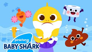 [✨NEW] Baby Shark's Potty Song | Potty Training Song for Kids | Baby Shark Official