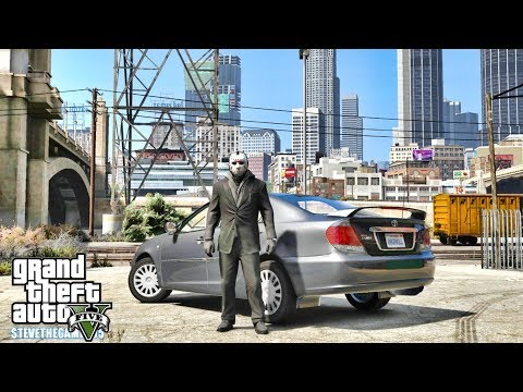 GTA 5 REAL LIFE CJ MOD #163 - THE HEIST !!!(GTA 5 REAL LIFE MODS) CAMRY