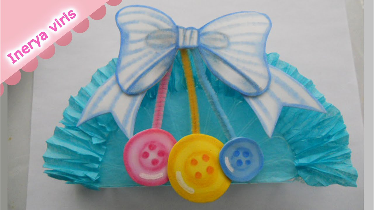 c mo decorar servilleteros baby shower cumplea os mo o tutorial