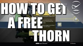 Destiny! How To Get A Free Thorn! (Or Any Other Exotic Bounty Weapon!)