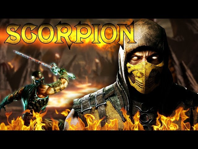 Scorpion, le ninja enflammé (Comics Mortal Kombat) - COMICS FORCE #9