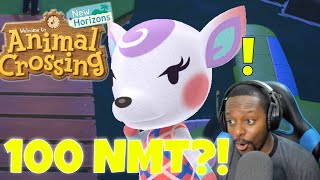 100 Nook Mile Tickets Hunting for Rare Villagers! | Animal Crossing New Horizons Gameplay