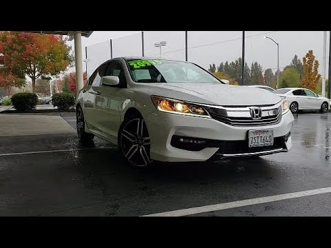 2016 Honda Accord Sedan Sport Mel Rapton Honda Quality Pre-Owned Vehicle, serving Sacramento  Citrus