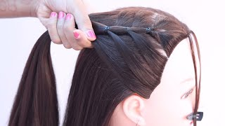 3 trendy ponytail hairstyle for everyday   hairstyle for girls   unique hairstyle   latest hairstyle