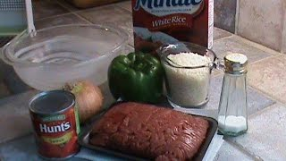 1960's Minute Rice Casserole
