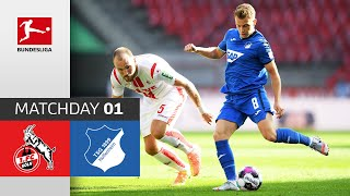 #koetsg | highlights from matchday 1!► sub now: https://redirect.bundesliga.com/_bwcs watch the bundesliga of 1. fc köln vs. tsg hoffenheim m...