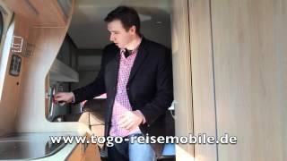 Einweisung La Strada Avanti H von Togo Reisemobile