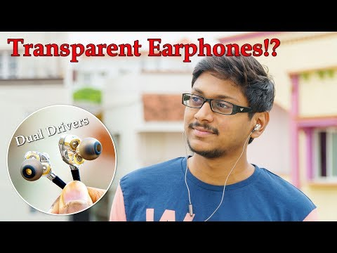 Transparent Dual Driver Earphones? For Only 700Rs!!