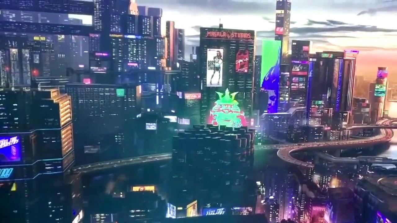 Cyberpunk 2077 City Wallpaper: Cyberpunk 2077 New Footage Leaked