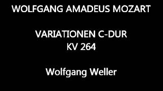 Mozart, Variationen C-Dur KV 264, Wolfgang Weller 2013.