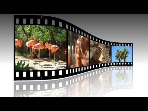 GIMP 2.8 Tutorial For Beginners - Filmstrip Photos