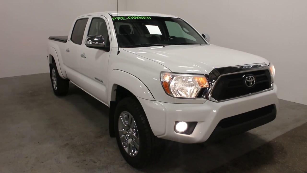 2013 Toyota Tacoma Limited 4X4 - YouTube