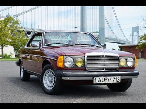 1984 mercedes benz 300cd w123 turbo diesel coupe youtube. Black Bedroom Furniture Sets. Home Design Ideas