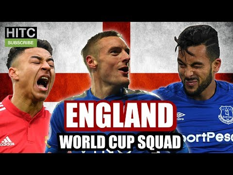 IRISH GUY PICKS ENGLAND WORLD CUP SQUAD
