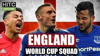IRISH GUY PICKS ENGLAND WORLD CUP SQUAD