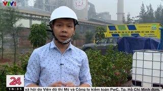 VTV1 Chuyển động 24h: Khắc phục sự cố tràn dầu tại Nhà máy Xi măng Chinfon Hải Phòng (12/11/2019)