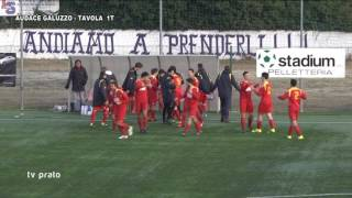 Audace Galluzzo-Tavola 1-1 Prima Categoria Girone B
