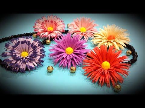 Fringe flowers design 2/ Paper quilling flowers