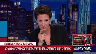 MSNBC Host Struggles To Read Report Of Babies Sent To 'Tender Age' Shelters