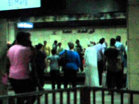 Rusty 2 Africa: Underground/ Metro in Cairo!