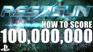 How To Score 100,000,000 in Resogun on PS4 - 1080 PS4 Gameplay