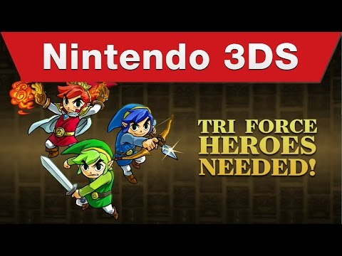 The Legend of Zelda: Tri Force Heroes Launch Trailer