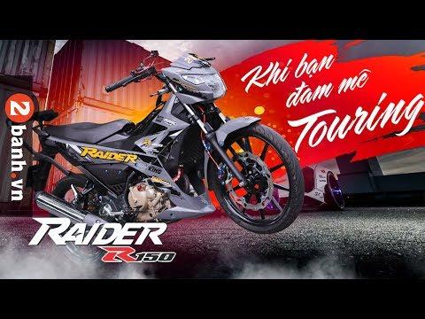 Raider R150 độ - Khi mà bạn đam mê Touring | 2banh Review