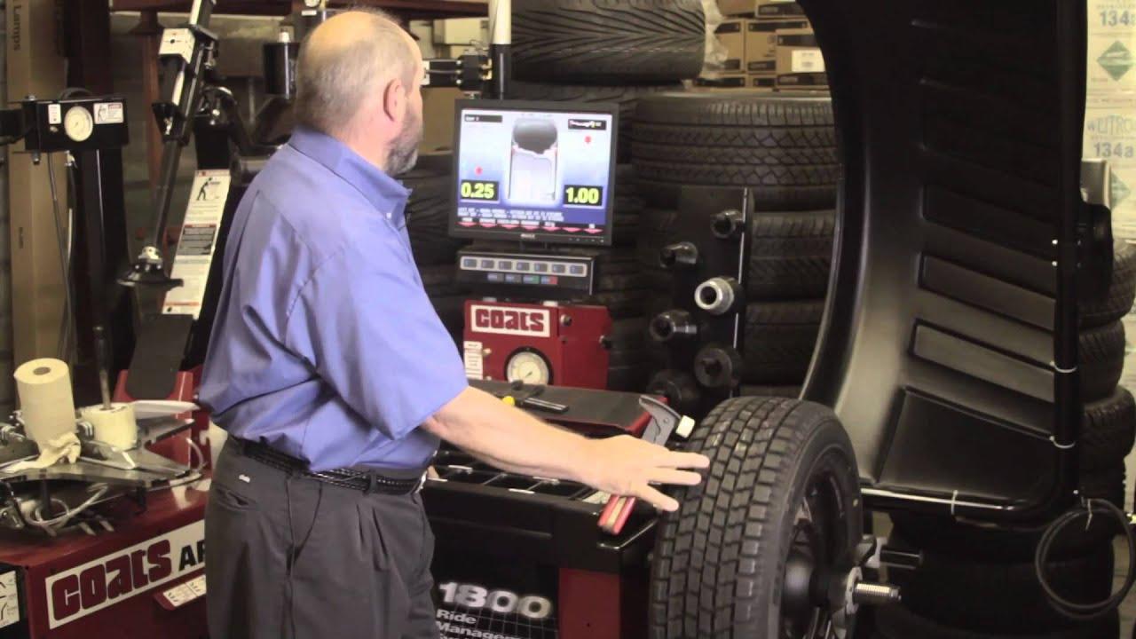 Tire Balance Rotation Youtube