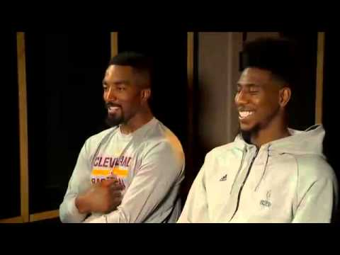 Iman Shumpert & J.R. Smith Talk About Their Journey from New York To Cleveland | 2015 NBA Finals