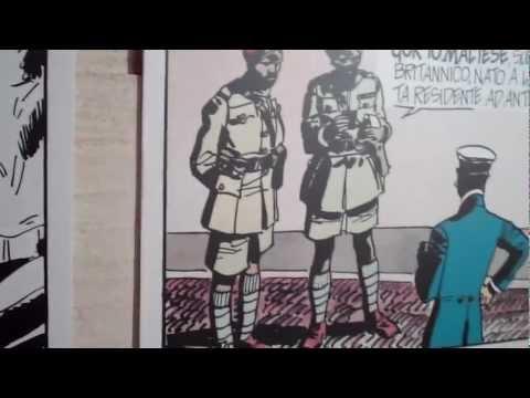 Hugo Pratt's CORTO MALTESE Exhibition At Malta Comic Con 2012