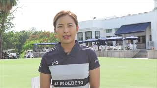 Tiffany Chan at the Hong Kong Golf Club