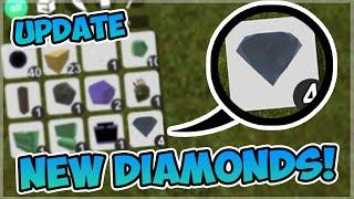 DIAMOND UPDATE IN BOOGA BOOGA! | Roblox