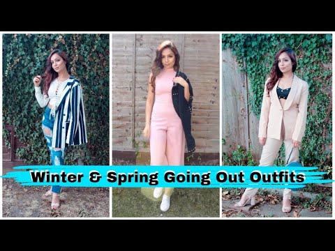 [VIDEO] - Winter/Spring Going Out Outfits|Easy Casual Outfits 1