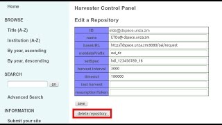 ETDPortal Version 1.2 Quick Guide 2/2: OAI-PMH Harvesting