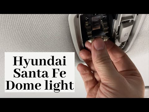 How To Change 2019 – 2020 Hyundai Santa Fe Dome Light | DIY Replace Remove Replacement Bulb