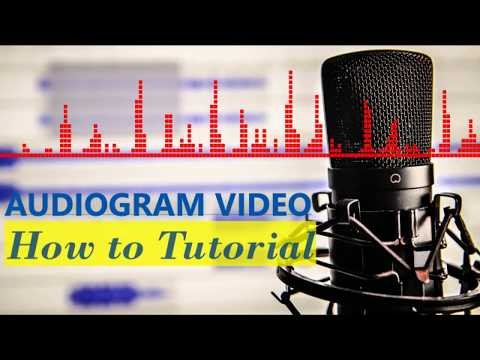 How To: Create audiogram video using your podcast audio