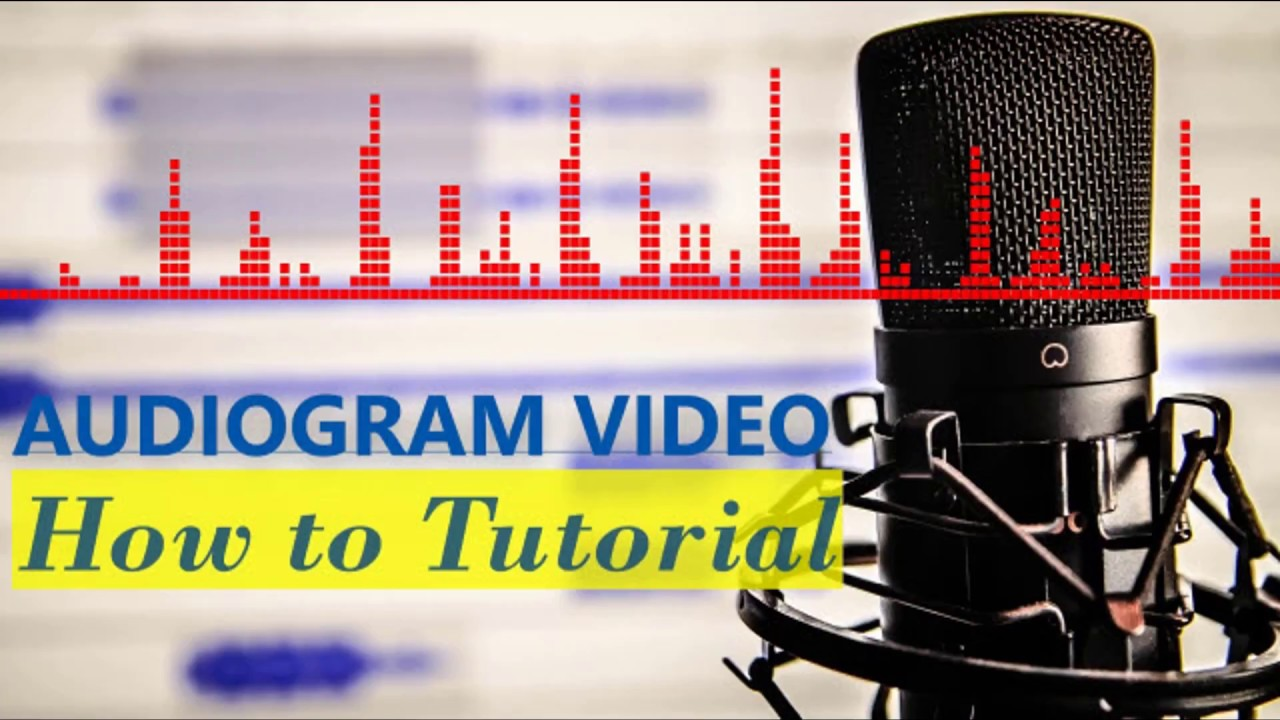 How To: Create audiogram video using your podcast audio 1
